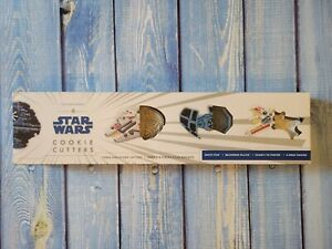 Williams Sonoma Star Wars Set Of 4 Cookie Cutters