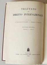 PRL) 1966 ANTIQUE BOOK LIBRO LIVRE DIRITTO AMMINISTRATIVO  INTERNAZIONALE CEDAM