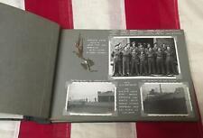 Vintage WWII British Army Military Photographs Album Spey Barracks 1945-48 BAOR