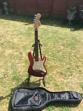 Fender squier stratocaster standard Candy Apple Red