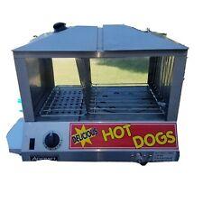 Hot dog cooker bun warmer