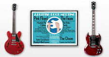HUGE 23 x 33 1972 Festival Poster Floyd Kinks Doors