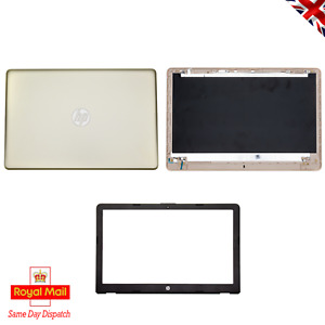 HP 15-BS 15T-BR 15Q 15-BW Gold Top Lid Cover + BezelL03440-001   L02818-001