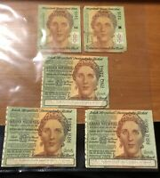 Lot Of 5 Irish Sweepstakes Tickets 1961 The Grand National
