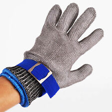 Stainless Steel Metal Mesh Butcher Knife Safety Cut Proof Stab Resistant Glove L