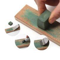 Wooden Handle Leather Sharpening Strop Razors Handmade Polishing Board Home Tool