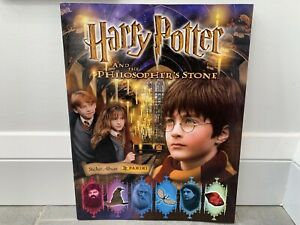 *NEW* Harry Potter and the Philosopher's Stone Panini Sticker Book Album 2001