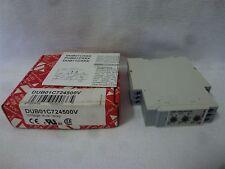 Carlo Gavazzi DUB01C724500V Voltage Level Relay 24VDC 1.2W 5A New