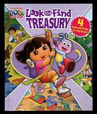 Look & Find Treasury:  Dora the Explorer - MINT- 4  books in  1 HC - Nickelodeon