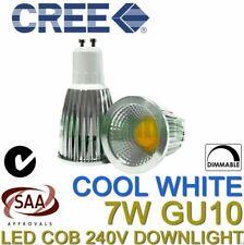 6 x CREE 7W LED COB GU10 DIMMABLE DOWNLIGHT SPOTLIGHT CEILING 240V COOL WHITE