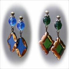 Handmade Glass Alloy Drop/Dangle Fashion Earrings