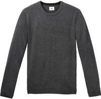 NUOVO DA UOMO LEE JEANS maglione lavorato a maglia girocollo maglione lana /