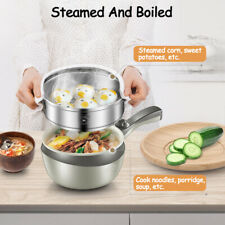 Stainless Steel Electric Wok Skillet Frying Pan Small Multi-function   JK+