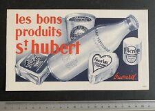 Buvard St Hubert / Fromage / Blotter
