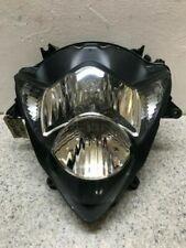 Faros delanteros negros para motos Suzuki