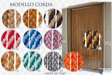 Tenda Moschiera a fili Modello Corda, su misura al mq. vari colori made in italy