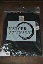 Mercer Culinary Millennia Air -New Unisex Cook Shirt Black - Large