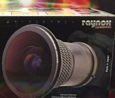 Raynox DCR-FE181 PRO HD 180° CIRCULAR Fish-Eye LENS -> 43mm 52mm 55mm 58mm 62mm