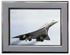 "BAC/AEROSPATIALE CONCORDE   7"" X 5"" FRAMED PHOTOGRAPH (WSF09P)"