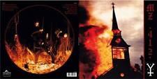 Mz.412 burning the Temple of God LP WHITE VINYL 2017 ltd.206
