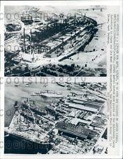 1963 Aerials Mitsubishi Plant Tokyo Rheinhausen Steel Works Essen Press Photo