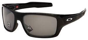 Oakley Turbine Sunglasses OO9263-4163 Polished Black| Prizm Black Polarized Lens