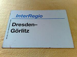 ZLS IR Dresden - Görlitz 4/97 F1 160 DB/RZL Osnabrück/Ast Emden