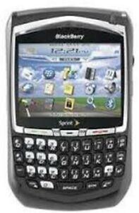 BlackBerry 8703e - Black (Sprint) Smartphone