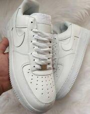 NK AIR FORCE 1 1'07 LOW LV8 Utility Bianco Sneaker sneakers in pelle 315122-111
