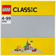 LEGO 10701 Classic Grey Baseplate Learning Toy