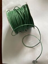 Green  paper covered wire