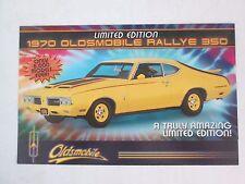 Danbury Mint Brochure 1970 Oldsmobile Rallye 350 LE