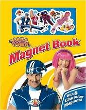 Lazy Town Magnet Board Book - Childrens Kids Activity Travel Creativity **New**