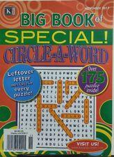 Kappa Big Book of Special Circle A Word Nov 2017 175 Puzzles FREE SHIPPING sb