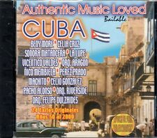 Authentic Music Loved Bailable Años 50al 2000 24 EXITOS ORIGINALES NEW SEALED CD