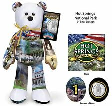 1st 16  National Park Quarter bear set - The years 2009 - 2012