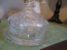 Crystal Butter Dish for your Holiday Table