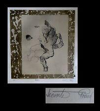 [CURIOSA - EROTISME – SURREALISME] Gérard LECOMTE-RARD - Lithographie. EA.