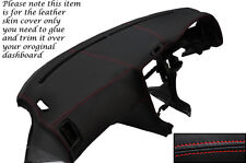 Rojo Stitch encaja Toyota Mr2 Mk2 1989-2000 Dash Dashboard Leather piel cubierta sólo