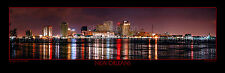 New Orleans Skyline Photograph Print Poster Photo 12x36 BIG Panoramic