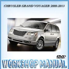 CHRYSLER GRAND VOYAGER 2008-2013 WORKSHOP REPAIR SERVICE MANUAL IN DISC