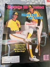 Sports Illustrated April 16, 1984 Graig Nettles and Goose Gossage