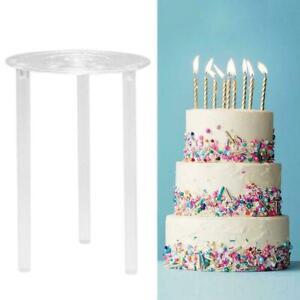 Multi-layer Cake Support Frame Stands Round Dessert Spacer Piling Bracket B1L6