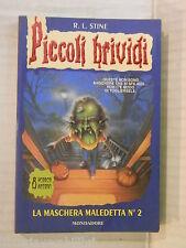 LA MASCHERA MALEDETTA N 2 R L Stine Cristina Scalabrini Mondadori brividi 1997