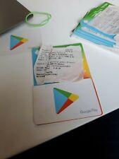 Google Play 500 CAD Gift Card