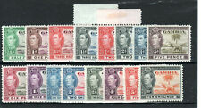 More details for gambia 1938-46 set to 10s mnh/mlh