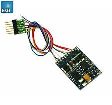 ESU 54613 LokPilot Decoder V4.0 DCC 6-poliger Stecker NEM 651 - NEU + OVP