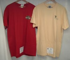 2-NWT Old Guys Rule T-Shirts Mens Large Golf (Yellow) & Man Myth Legend(Red)