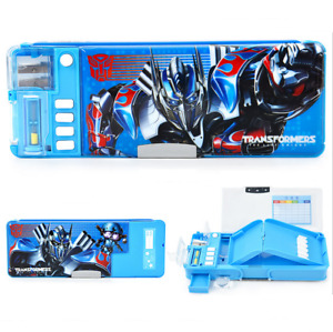 Transformers Bumblebee Multi-function Boy'S Pencil Box School Pencil Pen Box