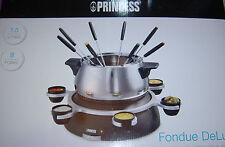 Princess® Fondue DeLuxe SET für 8 Personen,1,5 Liter,NEU!